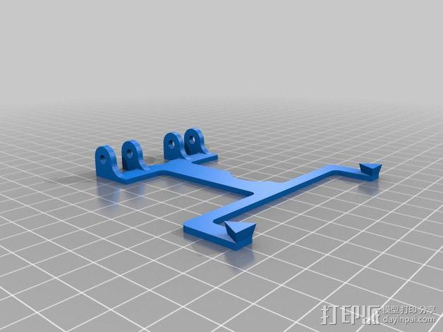 游戏机手柄 手机支架 3D模型  图4