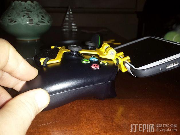 游戏机手柄 手机支架 3D模型  图6