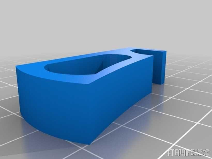 XBOX 360 游戏机支架 3D模型  图3