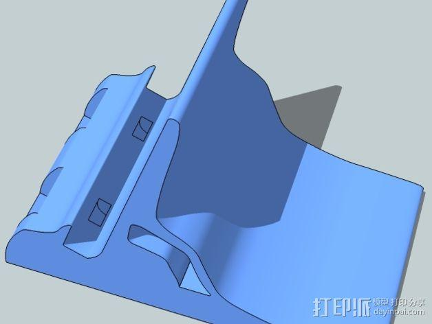 Nexus 5视频通话站架V2 3D模型  图3