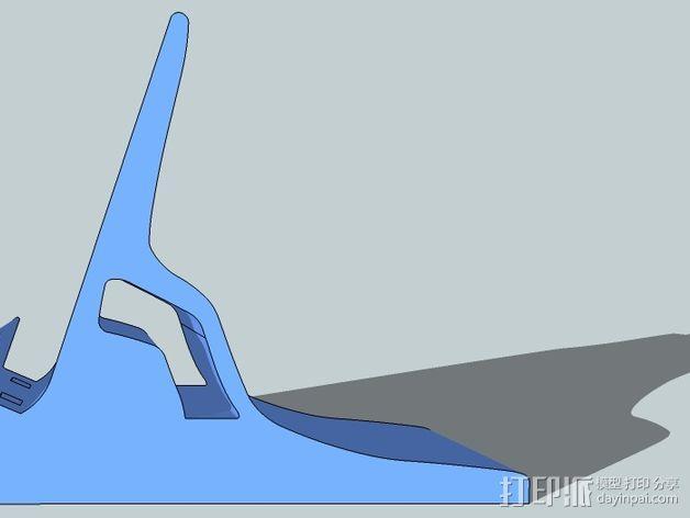 Nexus 5视频通话站架V2 3D模型  图4
