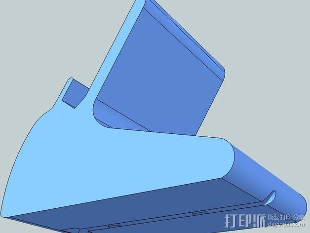 Nexus 数据接口站架 3D模型  图4