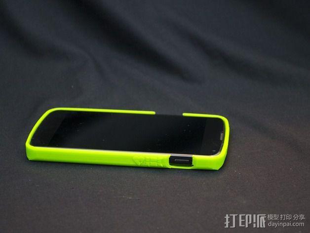 Nexus 4缓冲器 3D模型  图7