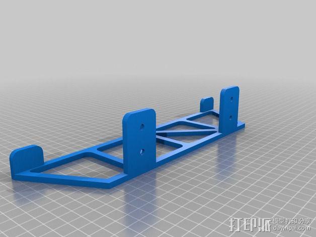 PS4悬空站架 3D模型  图2