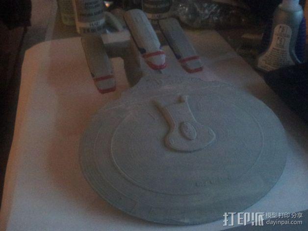 银河级星舰 3D模型  图2