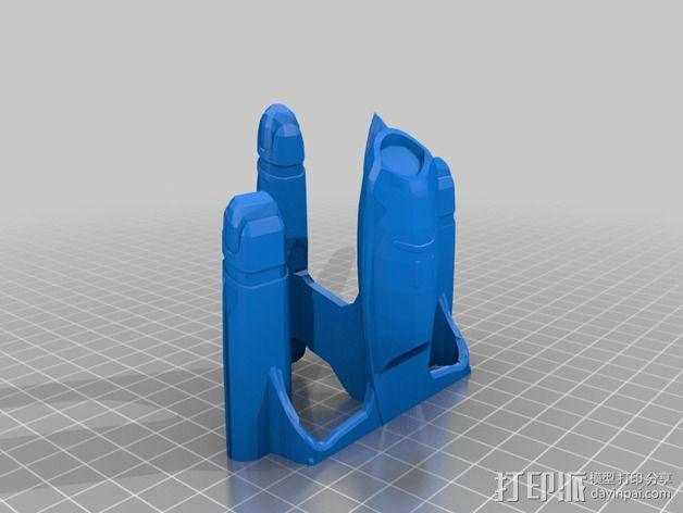 银河级星舰 3D模型  图5