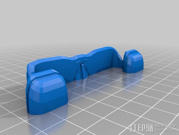 银河级星舰 3D模型  图10