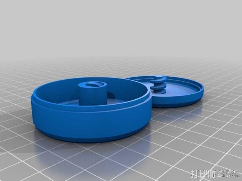 耳机收纳盒 3D模型  图4