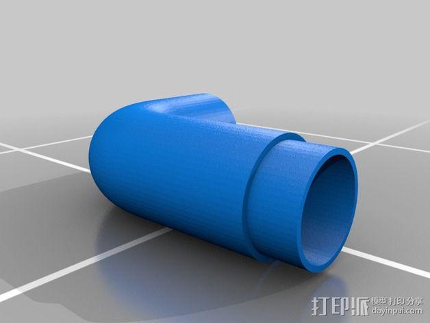 可打印 iPhone 4/5 扬声器站架 3D模型  图3
