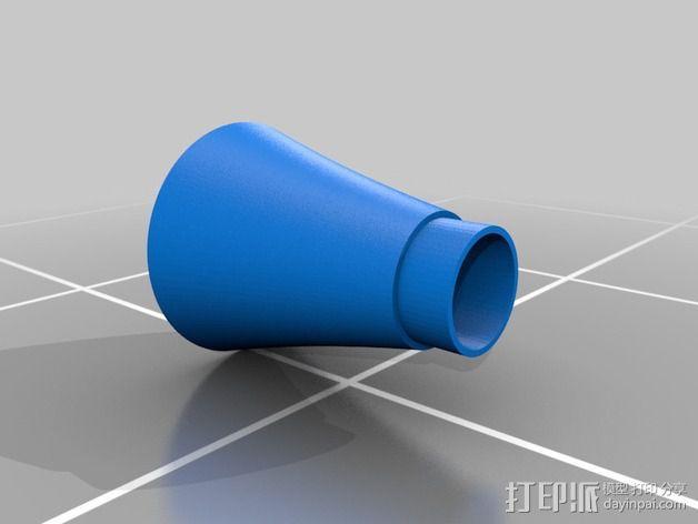 可打印 iPhone 4/5 扬声器站架 3D模型  图4