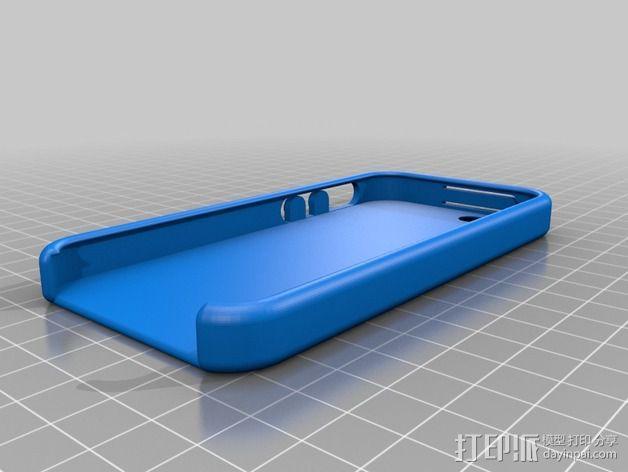 iPhone 5 / 5S 手机套 3D模型  图2