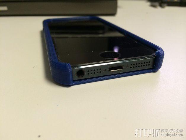 iPhone 5 / 5S 手机套 3D模型  图4