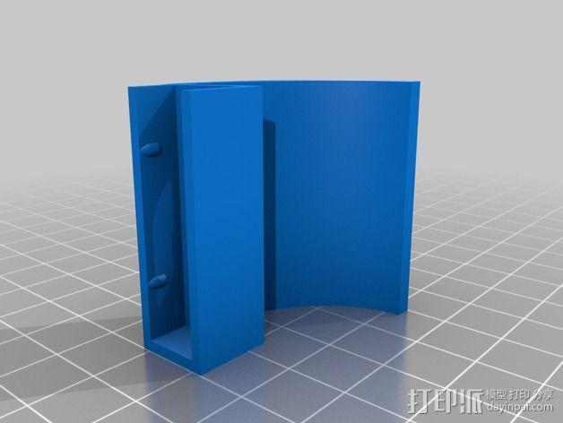 微软Surface扩音耳 3D模型  图4