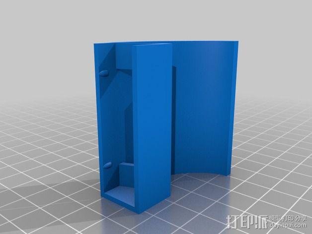 微软Surface扩音耳 3D模型  图5