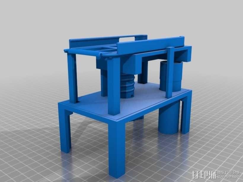 智能手机显微镜 3D模型  图1
