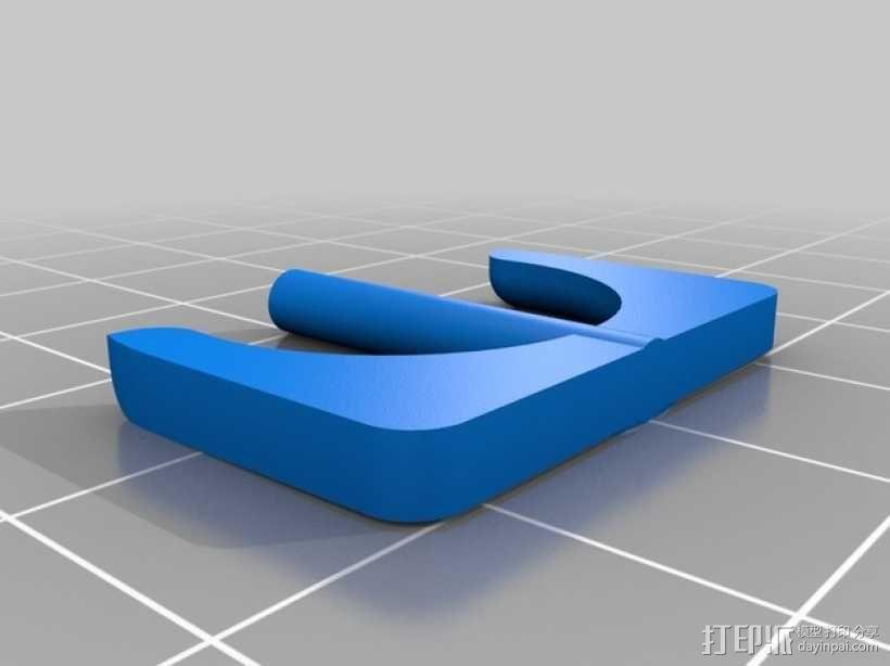 智能手机显微镜 3D模型  图2