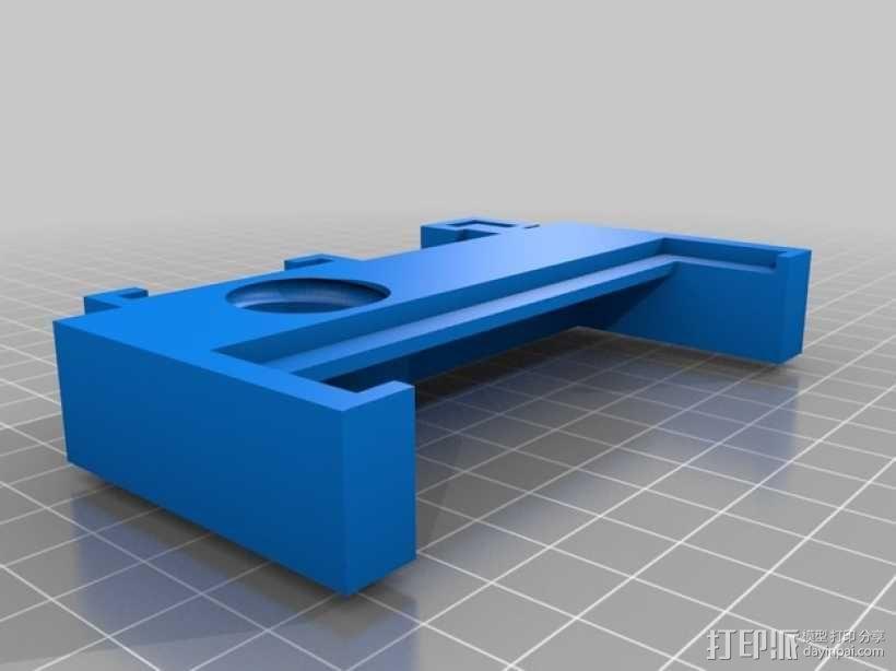 智能手机显微镜 3D模型  图3