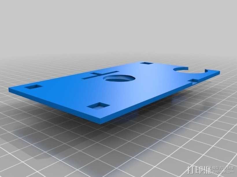 智能手机显微镜 3D模型  图5