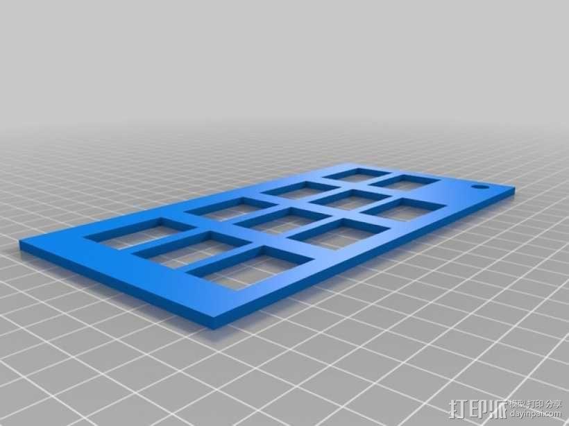 智能手机显微镜 3D模型  图6