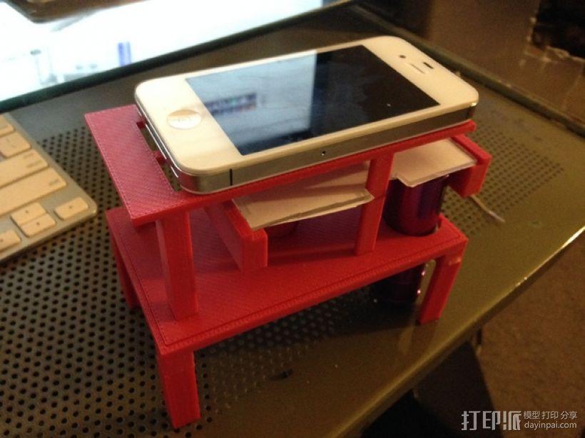 智能手机显微镜 3D模型  图7