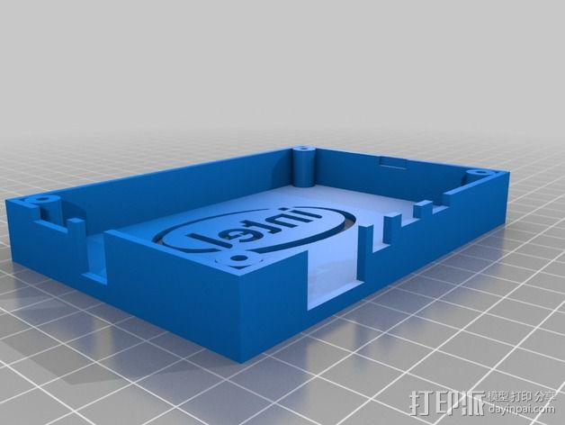 英特尔Galileo外壳 3D模型  图2