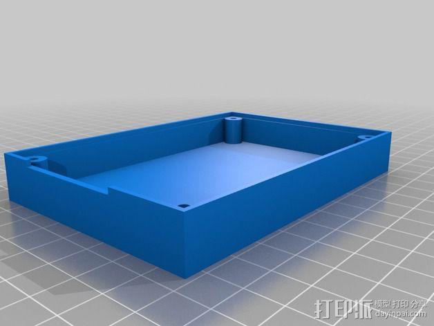 英特尔Galileo外壳 3D模型  图1