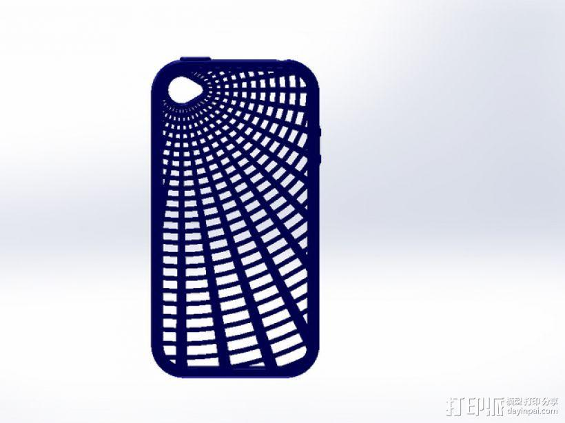 灵活式Iphone4 手机套 3D模型  图1