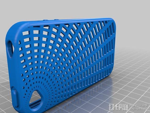灵活式Iphone4 手机套 3D模型  图3
