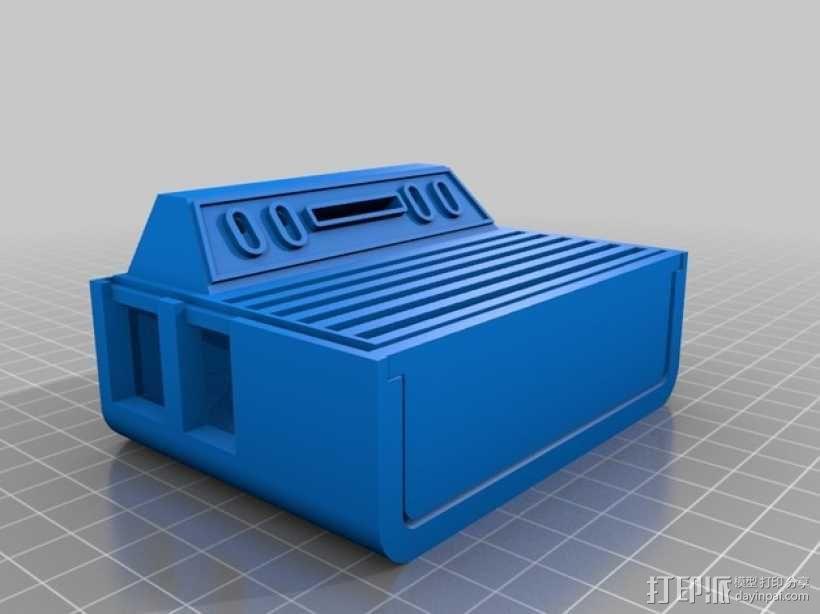 Atari 2600 树莓派外盒 3D模型  图1