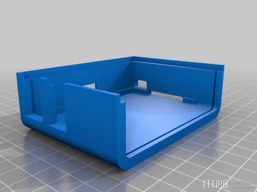 Atari 2600 树莓派外盒 3D模型  图4