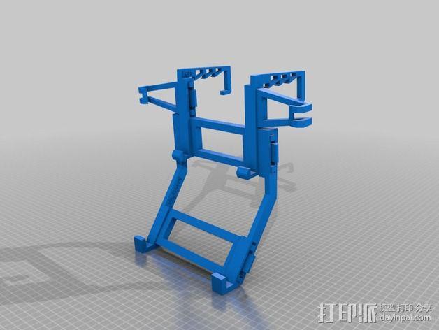 Microsoft Surface RT平板电脑支架 3D模型  图2
