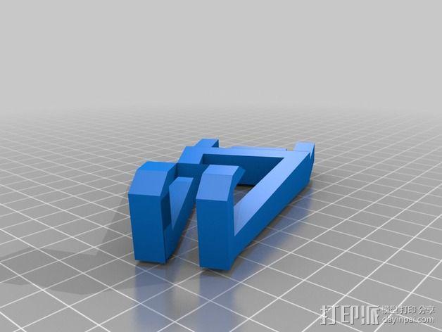 Microsoft Surface RT平板电脑支架 3D模型  图6