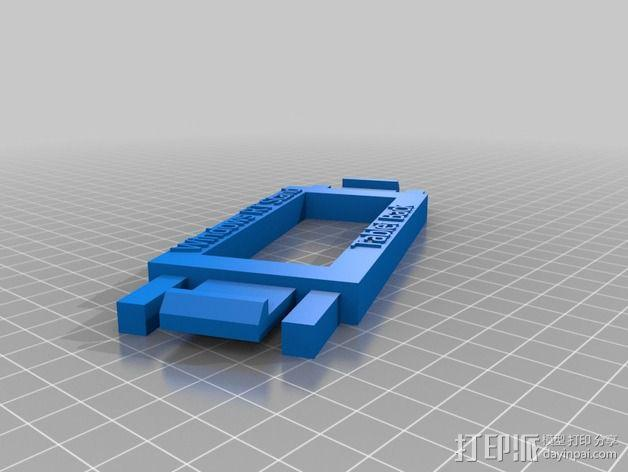 Microsoft Surface RT平板电脑支架 3D模型  图7