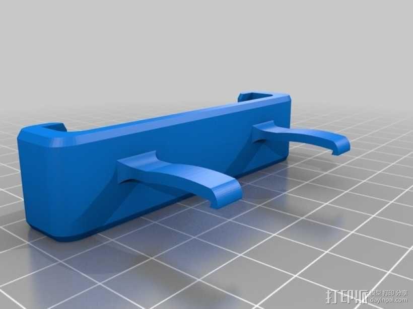 Nexus 4(和bumper) 车用支架 3D模型  图2