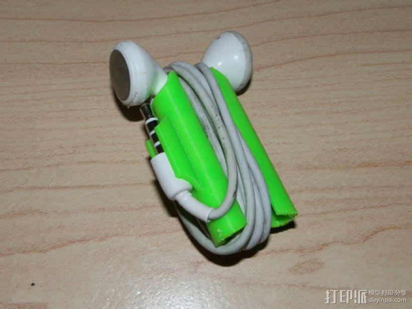 iPhone耳机收纳器 3D模型  图1
