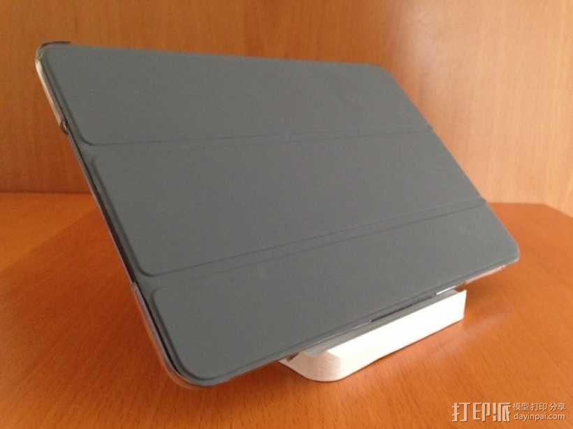 iPad mini 平板电脑支架 3D模型  图1