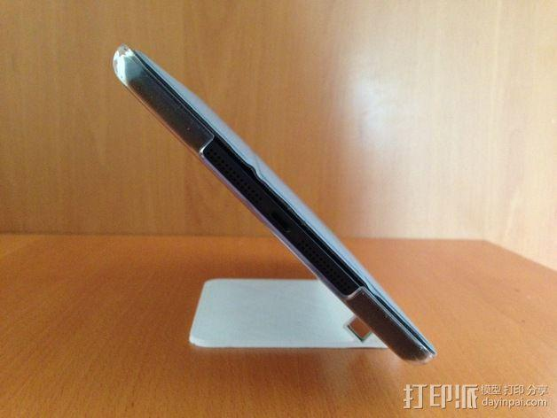 iPad mini 平板电脑支架 3D模型  图3
