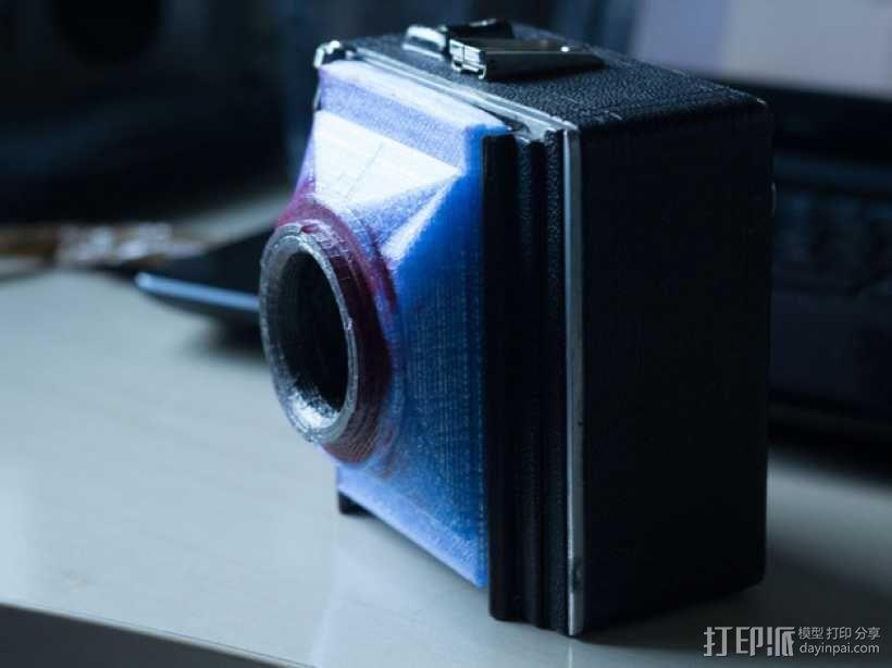 相机适配器 3D模型  图4