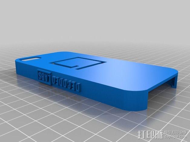 iPhone 5s防滑手机套 3D模型  图2