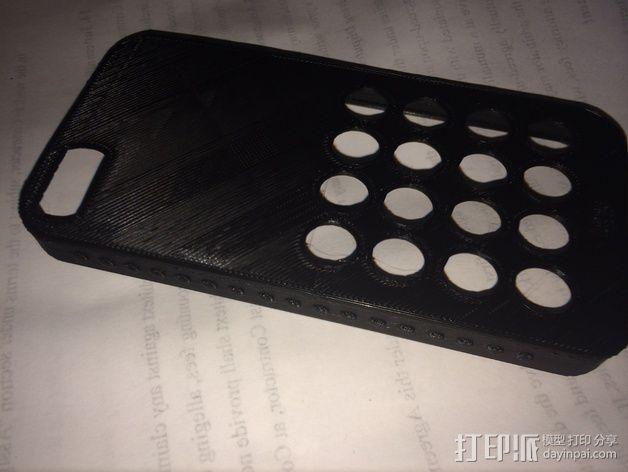 iPhone 5s防滑手机套 3D模型  图3