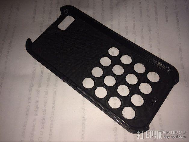 iPhone 5s防滑手机套 3D模型  图4