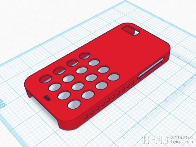 iPhone 5s防滑手机套 3D模型  图7