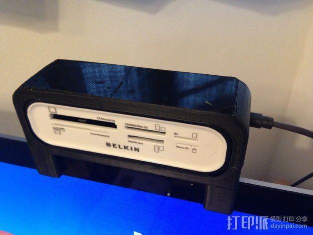 Belkin 通用式阅读器支架 3D模型  图1