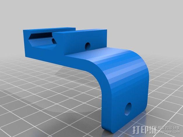 Sony hdr-as15 相机框  3D模型  图3