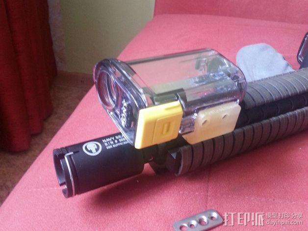 Sony hdr-as15 相机框  3D模型  图7