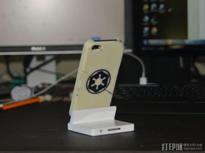 星球大战标志 iPhone5手机保护套 3D模型  图1