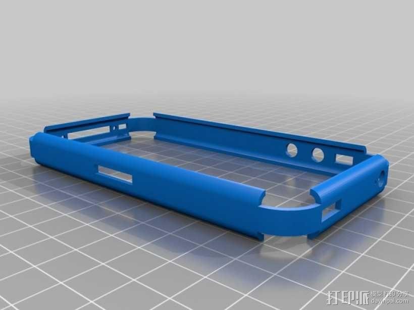 iPhone 4S手机保护外壳 3D模型  图1