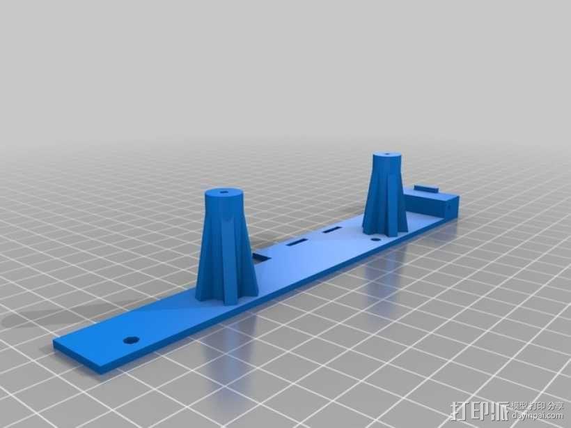 Raspberry Pi 树莓派电路板保护盒 3D模型  图7