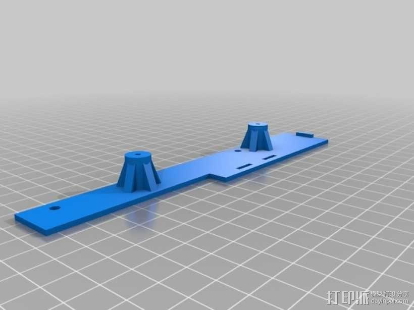Raspberry Pi 树莓派电路板保护盒 3D模型  图8