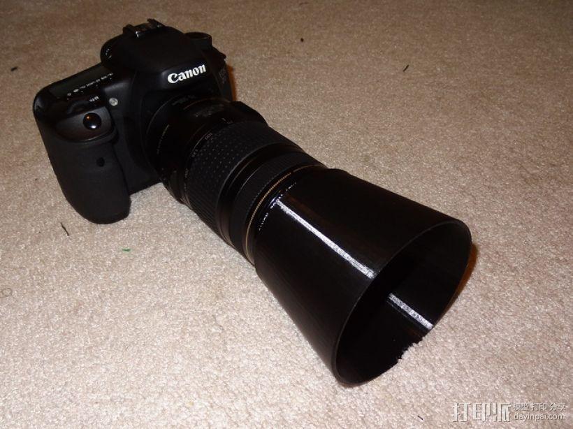 佳能相机镜头保护罩 3D模型  图1